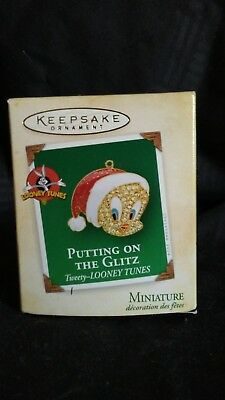 HALLMARK Keepsake 2004 TWEETY PUTTING ON THE GLITZ LOONEY TUNES Miniature NEW