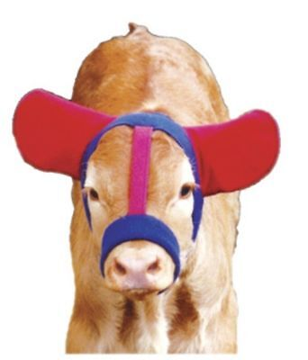 Ear Muffs for Calves Warm Fleece Winter Feedlot Easy to Use Stays in Place
