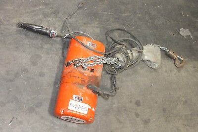 CM Lodestar   Electric Chain Hoist - 1/4 Ton