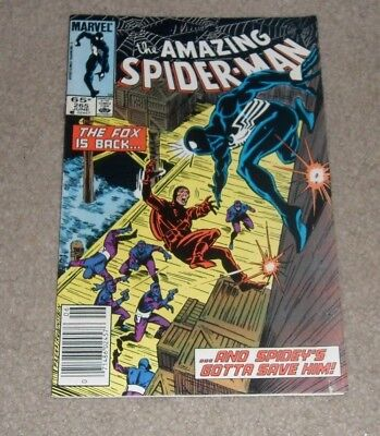 Amazing Spider-Man #265 Marvel comics featuring 1st appearance of Silver Sable
