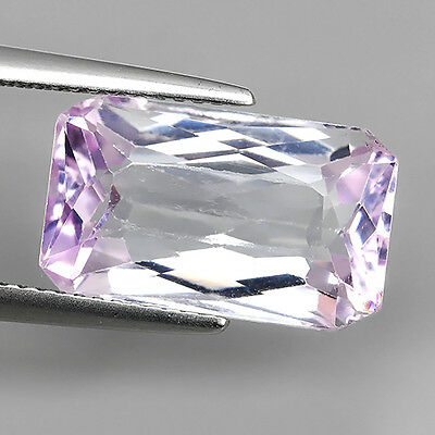 8.18Ct Untreated Extremely Soft Pink Natural Kunzite Octagon Cut Loose Gemstones