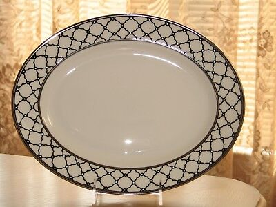 Lenox Garden Gala Oval Serving Platter New in Box First Quality Made in USA