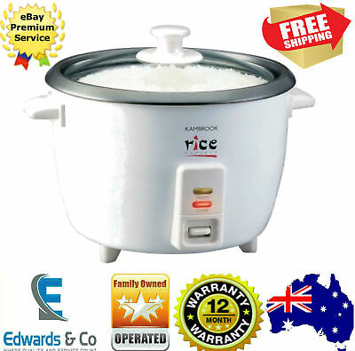 5 Cup Rice Cooker Steamer Express Non Stick Removable Bowl FAMILY SIZE Kambrook
