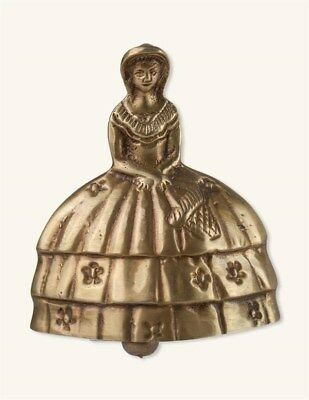 Victorian Trading Co Large Southern Belle Lady Antique Brass Bell