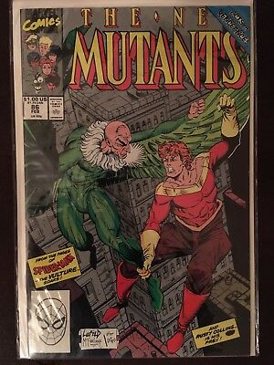 The New Mutants #86 (Feb 1990, Marvel) F/VF First Appearance of Cable