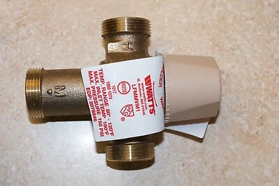 Chicago 122-ABNF lead free thermostatic mixing valve Watts LFMMVM1