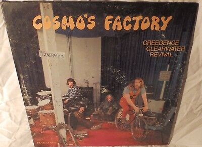 Creedence Clearwater Revival Cosmos Factory orig 1st press Blue Fantasy lbl 1970