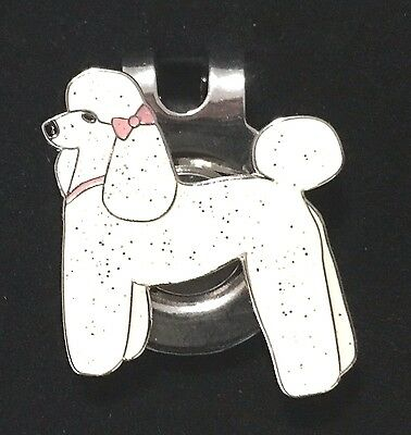 Poodle Magnetic Hat Clip Ball Marker New
