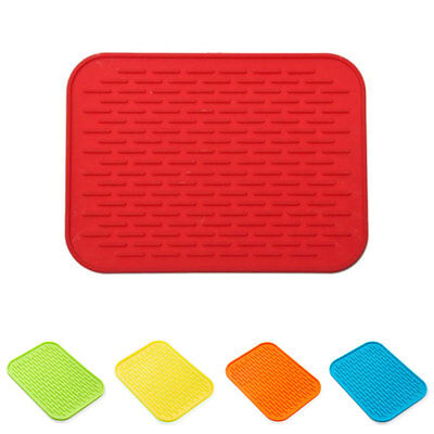 Silicone Heat-Resistant Pot Bowl Oven Table Mat Trivet Tray Kitchenware Tool