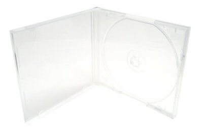 Mediaxpo Brand 50 STANDARD Clear Single VCD PP Poly Cases 10.4MM