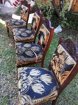 Edwardian 4 Dining Chairs