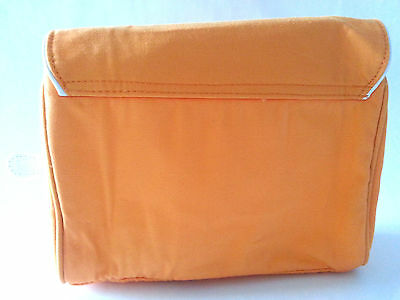 Job Lot - 6 Clarins Beauty Make Up Bags - Orange - £6 A Box To Clear Be Quick!*