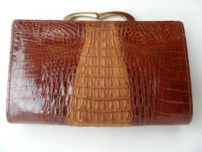 Vintage Ladies Leather Purse Fabulous Design