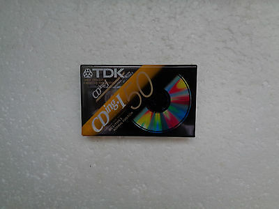 Vintage Audio Cassette TDK CDing-I 50 * Rare From 1997 *