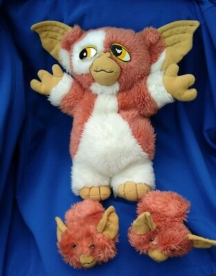 Rare Gremlins Gizmo Soft Toy Plush With Two Babies Baby