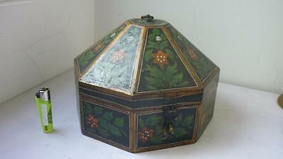 Wooden box attributed to Heinrich Bucher or Berks Lancaster County, Pennsylvania