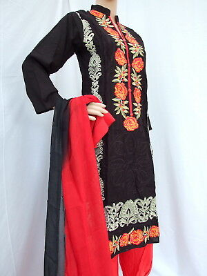 Shalwar Kameez with Pathani Shalwar Indian Pakistani Style Stitching