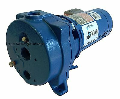 Goulds J10 - Convertible Jet Pump - 1 HP - 115v/230v - ( NEW )