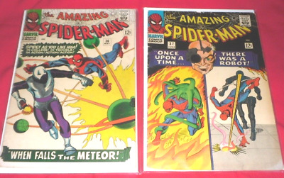 Amazing Spider-Man #36#37# TWO GREAT COMICS IN ONE LOT