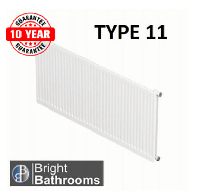 COMPACT CONVECTOR Radiator White Type 11 500X500 Central Heating ...