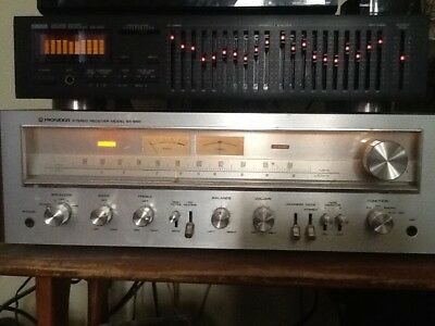 Vintage Pioneer Sx-650 Am/fm Stereo Receiver - Excellent Sound-Good As New-Amp
