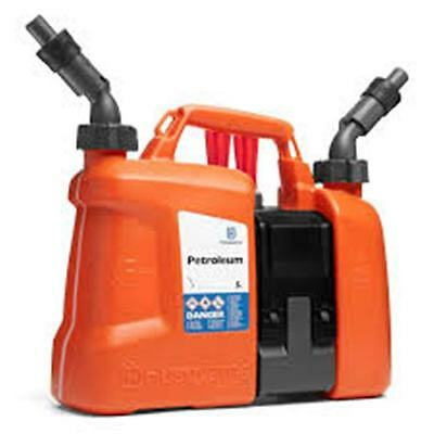 Husqvarna Combi Fuel Can - Petrol and Oil Fuel, Spouts, Tool Holder  580754201
