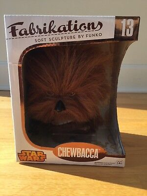 Star Wars Chewbacca Fabrikations by Funko - NEW