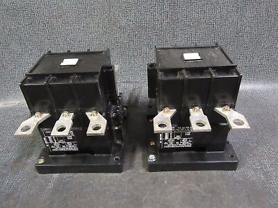 Abb Eh 145 Contactor 200 Amp 600 V 3 Pole With 110-120V Coil Model: Eh145