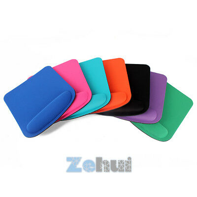 Anti Slip Mouse Mat Wrist Gel Rest Comfort Support Pad For PC Laptop Computer AU