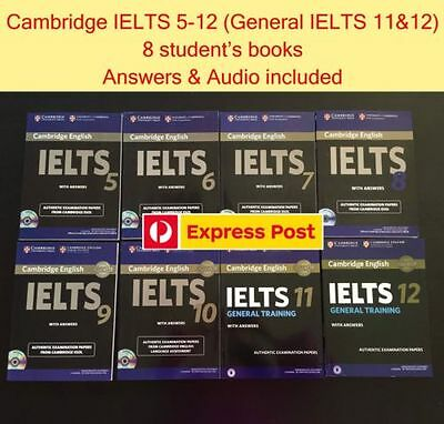 Cambridge IELTS 5-12 Student's Book w Answers: Exam Papers + DVD (General 11+12)