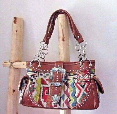 Native american style concealed carry purse / pocket book by Montana West  M0127