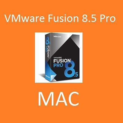 % SALE % | VMware Fusion 8.5 Pro MAC (2017) |1MAC| VOLLVERSION | NEU | Rechnung