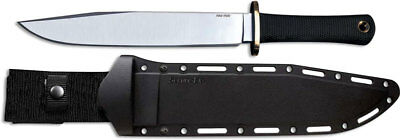 Cold Steel Trail Master Bowie Knife, Black Kraton Handle Secure-Ex Sheath