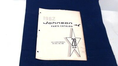 Used 1962 Johnson Rx-Rxl-10C-10R 28Hp Parts Catalog