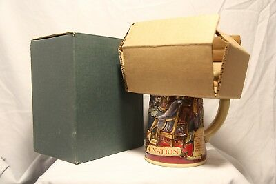 Miller High Life Birth of a Nation Beer Mug-Stein-Tankard-1776-2nd Series-1992