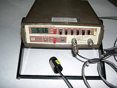 UDT 550 Fiber Optic Power Meter & UDT J16-TE200