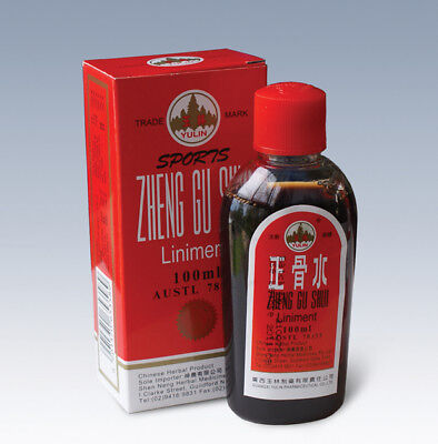 Zheng Gu Shui Liniment 100 ml For Muscular Aches Pain Cramps  Chinese Medicine