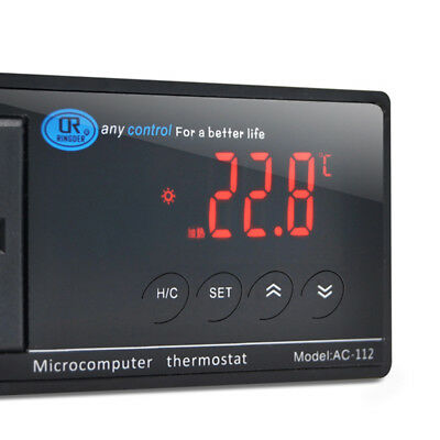 Digital LED Temperature Controller Thermostat 110V/220V Perfect For Aquarium