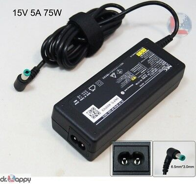 NEC Genuine Original 75W AC Adapter Charger Compatible Toshiba PA-1750-08