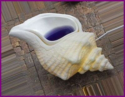 PartyLite ELECTRIC SCENTGLOW AROMA MELTS FRAGRANCE WAX WARMER CONCH SEA SHELL