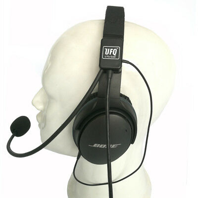 UFQ AV Mike-1 aviation headset microphone suit for  Bose QC25,QC35 good quality