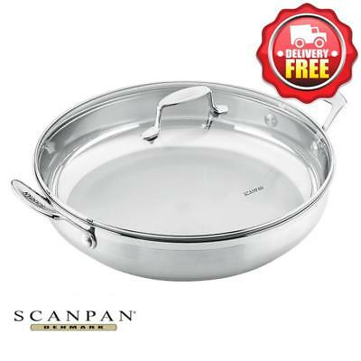 COOK KING TRI Ply Stainless Steel Honeycomb Nonstick Frying