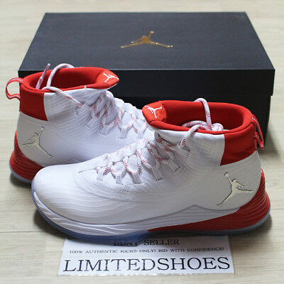 09ae3fa635f Nike Air Jordan Ultra Fly 2 History Of Flight White University Red  897998-117