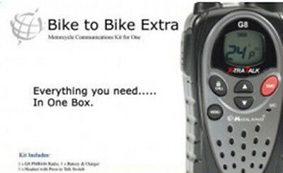 Midland Bike to Bike Basic Motercycle Communications kit for one