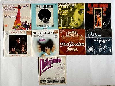 9 x Soul Singles 7 - Supremes / Diana Ross / Donna Hightower .....
