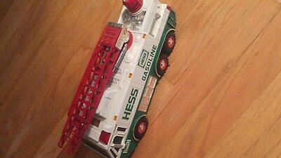 Vintage 1996 HESS Gasoline Truck Firetruck Vehicle Collectible no box
