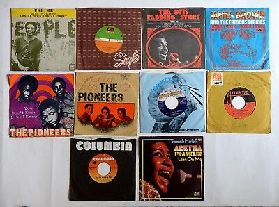 10 x Soul Singles 7 - Edwin Starr / The Pioneers / Otis Redding / Bill Withers