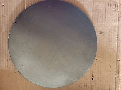 (1)pc. 1/4 INCH X 12 13/16 INCH ROUND/DISC STEEL PLATES A36 GRADE STEEL