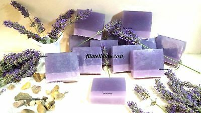 Jabon Glicerina 100% Natural Lavanda 100Gr Hand Made Soap