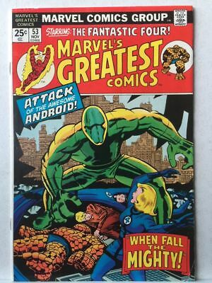 Marvel's Greatest Comics # 53 VF- Fantastic Four # 70 Free Postage